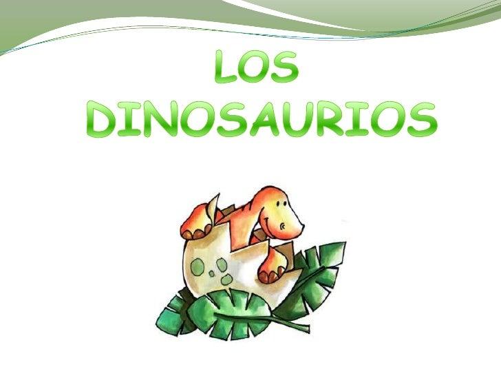 Los dinosaurios eran reptiles terrestres -animales con espina dorsal, cuatro patas ypiel impermeable cubierta de escamas-,...