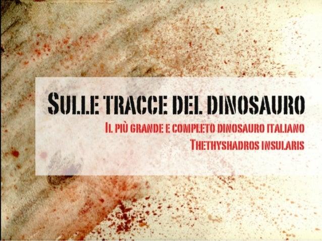 Dinosauro Antonio scoperto da Tiziana Brazzatti  Slide 2