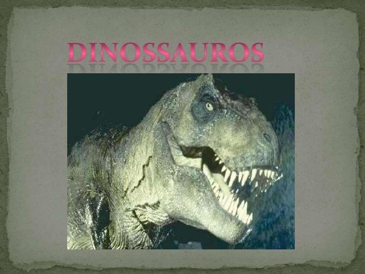 Dinossauros<br />