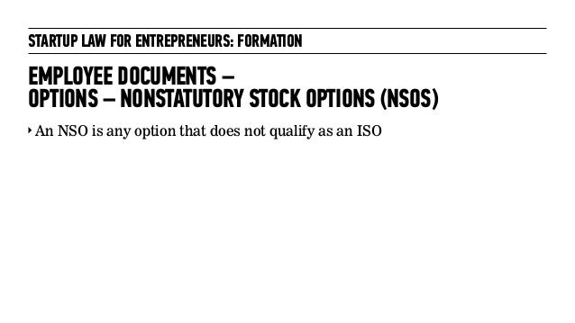 Typical employee stock options