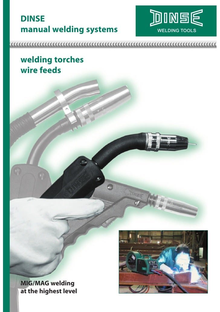Dinse Manual Weld Torches on