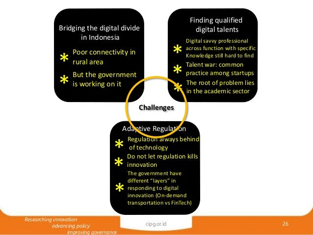 Digital Economy in Indonesia: Prospect, Challenges, and