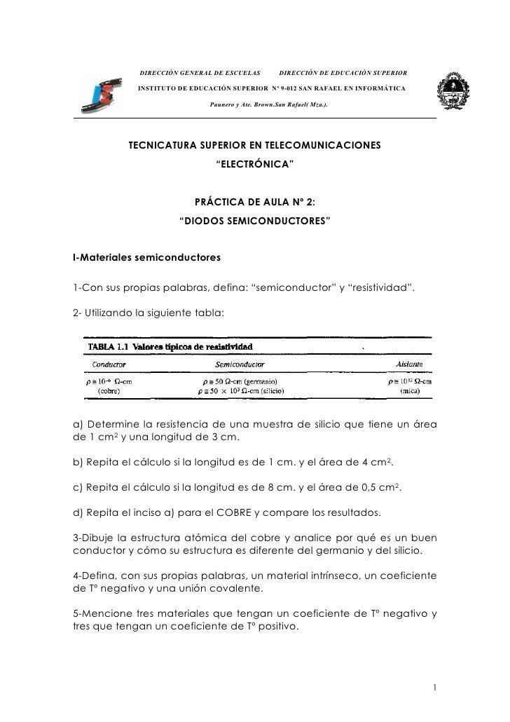 DIRECCIÓN GENERAL DE ESCUELAS          DIRECCIÓN DE EDUCACIÓN SUPERIOR                INSTITUTO DE EDUCACIÓN SUPERIOR Nº 9...