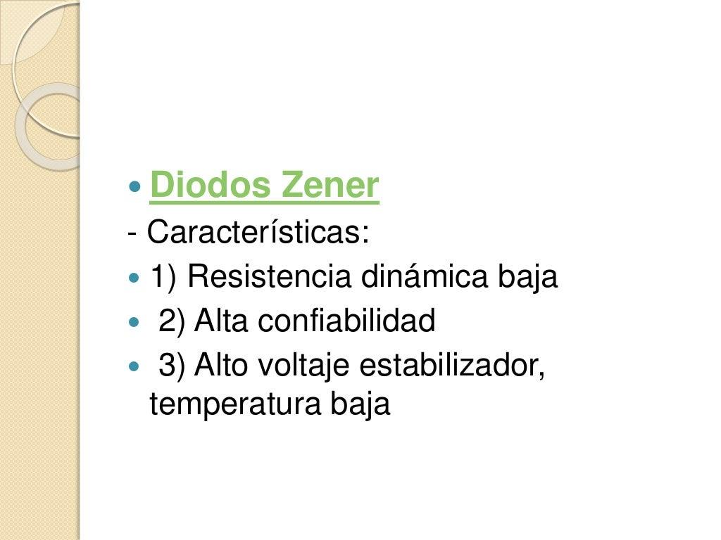 Circuito Zener : Diodo zener