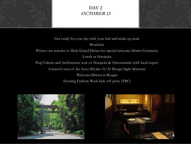 Dioduet travel mercedes benz tokyo fashion tour and ...
