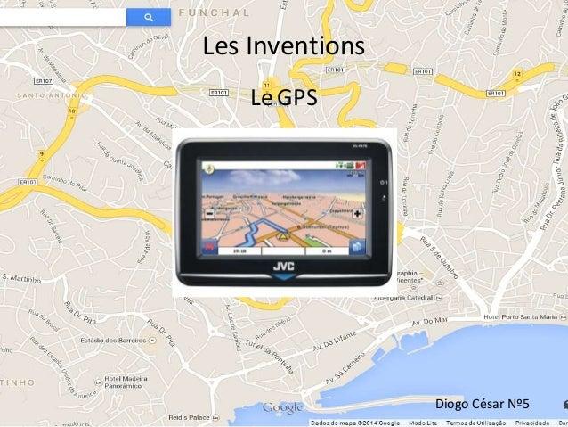 Les Inventions Diogo César Nº5 LeGPS