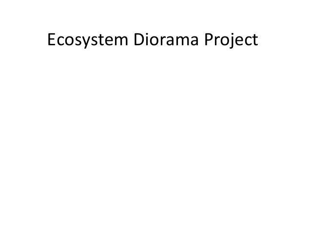 Diorama powerpoint
