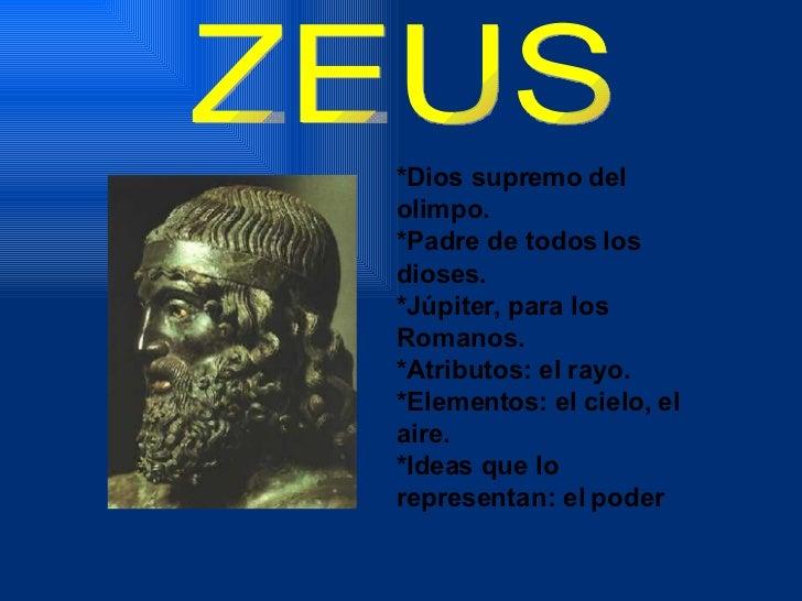 Dioses Griegos Slide 2