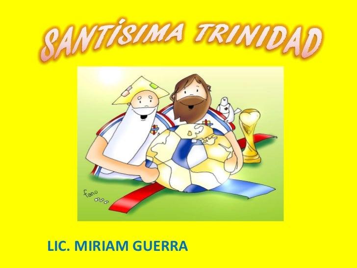 LIC. MIRIAM GUERRA