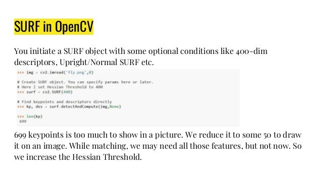 Opencv 4 Feature Detection