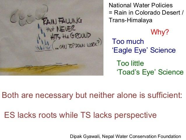National Water Policies                                    = Rain in Colorado Desert /                                    ...