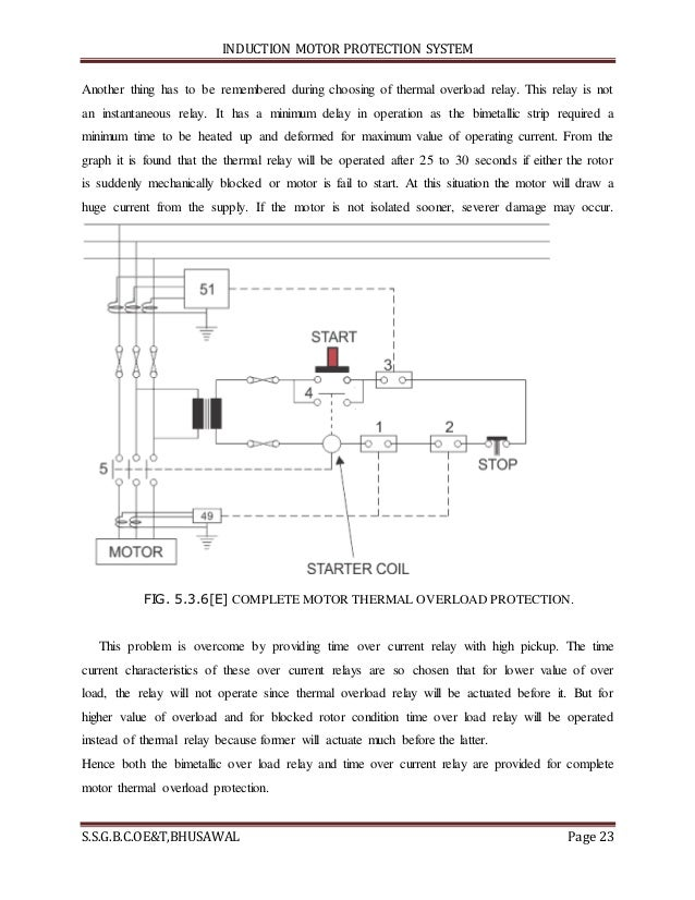 A thermistor motor temperature protection device operates for Motor overload protection calculator