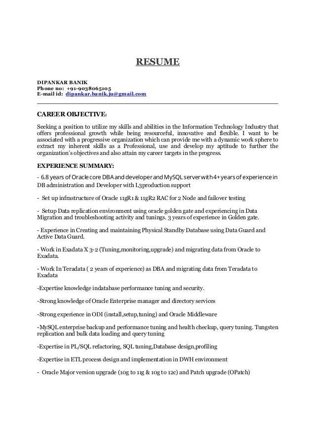 Dipankar Resume 20 1