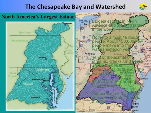 DiPasquale Nick US EPA Chesapeake Bay Program Approaches To Achiev - Us map chesapeake bay