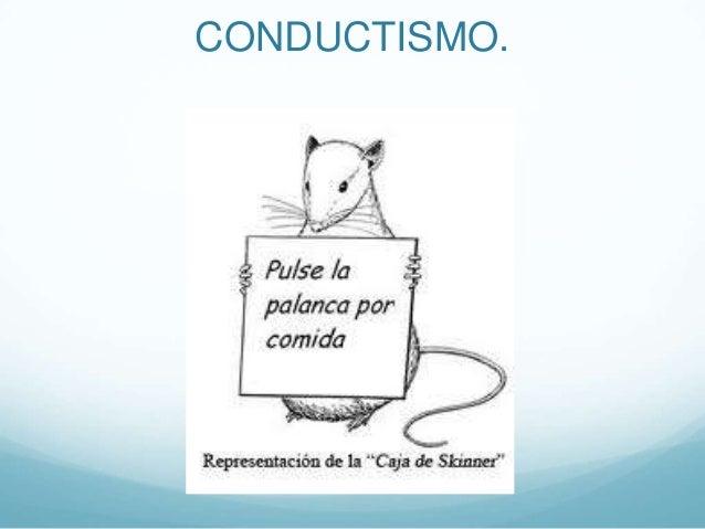 CONDUCTISMO.