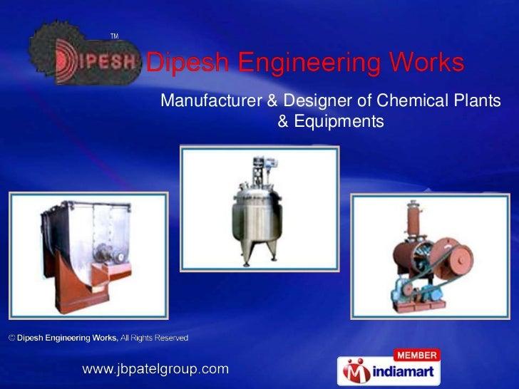 Manufacturer & Designer of Chemical Plants & Equipments<br />