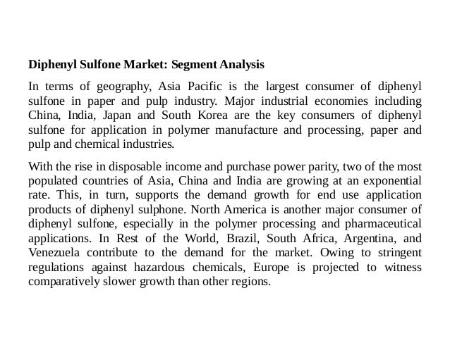 Diphenyl Sulfone Market - Trends, Share and Growth