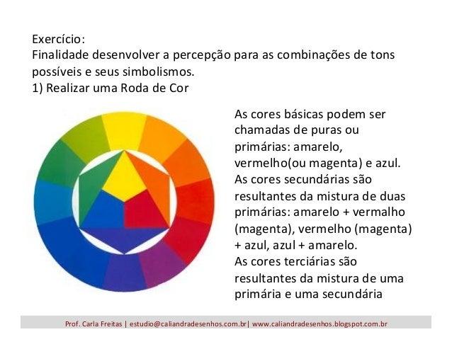 Prof.  Carla  Freitas  |  estudio@caliandradesenhos.com.br|  www.caliandradesenhos.blogspot.com.br   Exercício...