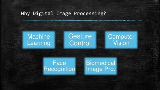 Why Digital Image Processing?  Machine Learning  Gesture Control  Face Recognition  Computer Vision  Biomedical Image Pro.