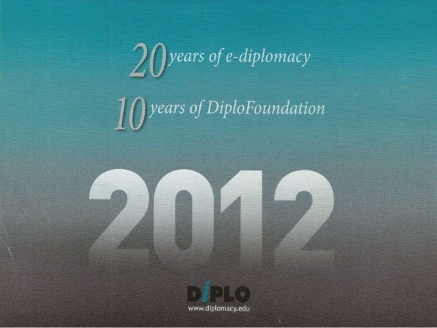 years of e-diplomacy  9 5 years of DiploFoundation     Y wwwdipldmacy,  érdu