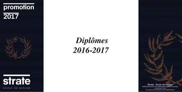 strate ecole de design diploma book 2016 2017. Black Bedroom Furniture Sets. Home Design Ideas