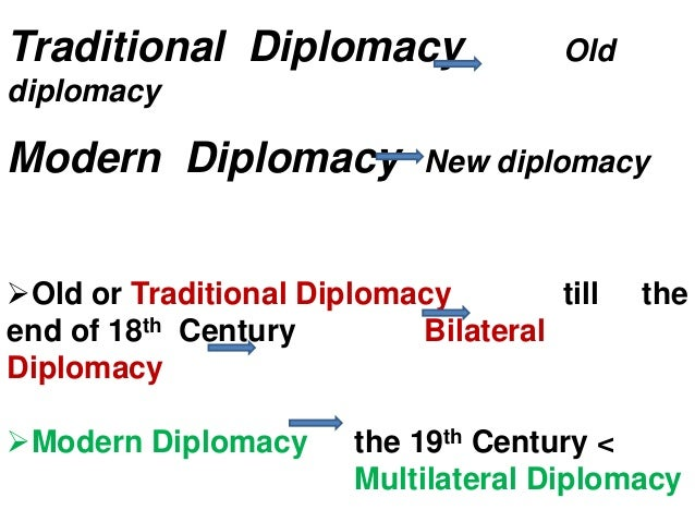 examples of multilateral diplomacy
