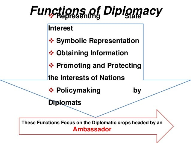 features of modern diplomacy
