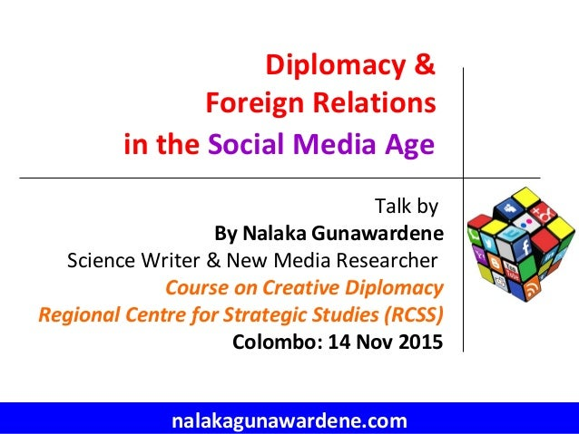 role of diplomacy in foreign relation Brill research perspectives in diplomacy and foreign policy provides an open  forum for reference publication, critical analysis, and cutting-edge research on.
