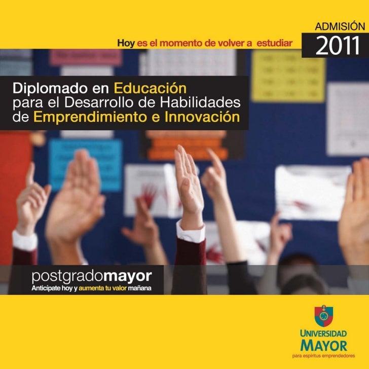 Diplomado en educación para el emprendimiento