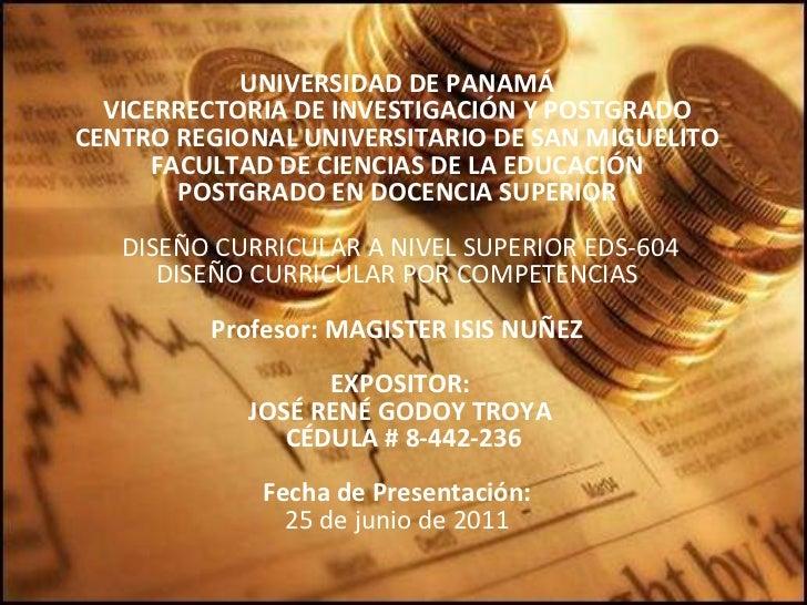 UNIVERSIDAD DE PANAMÁ FACULTAD DE ADMINISTRACIÓN DE EMPRESAS Y CONTABILIDAD ESCUELA DE CONTABILIDAD LICENCIATURA EN CONTAB...