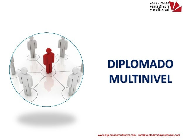 Diplomado Multinivel  DIPLOMADO MULTINIVEL  www.diplomadomultinivel.com | info@ventadirectaymultinivel.com