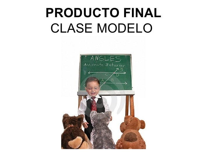 PRODUCTO FINAL CLASE MODELO