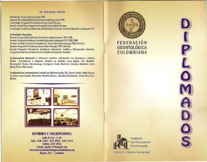 Diplomados iec 2010