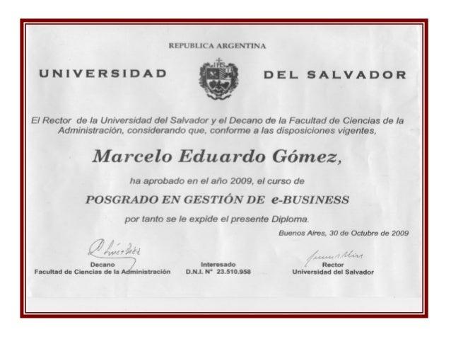 REPUBLICA ARGENTINA  I UNIVERSIDAD DEL SALVADOR  V  EI Rector de la Universidad del Salvador y el Decano de la Facultad de...