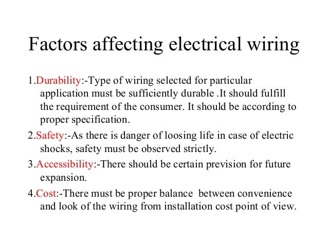 diploma i boee u 5 electrical wiring safety and protection rh slideshare net electrical wiring safety procedures safety for electrical wiring
