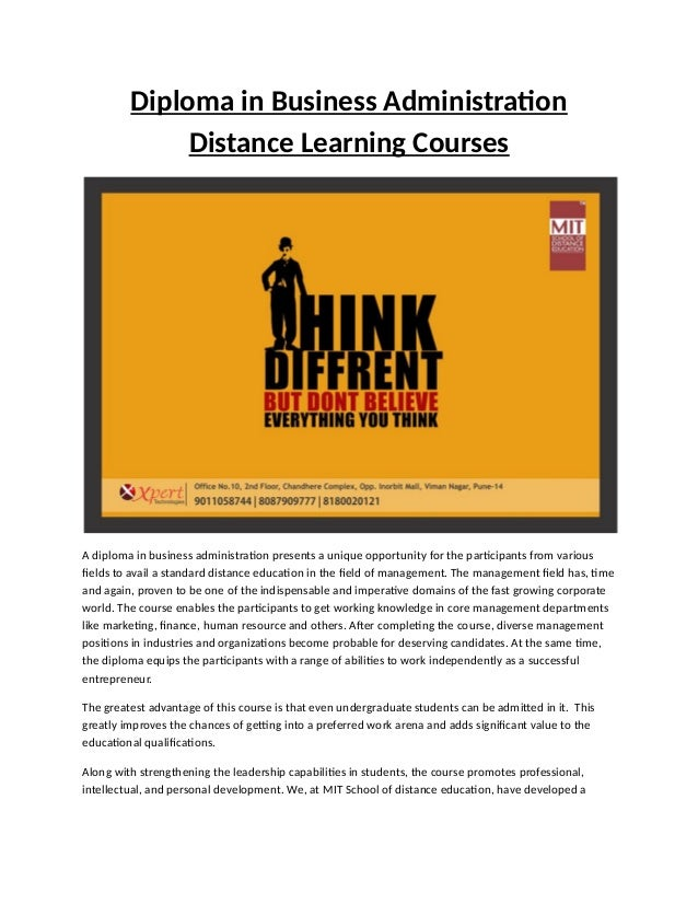 diploma in business administration distance learning courses diploma in business administration distance learning courses a diploma in business administration presents a unique opport