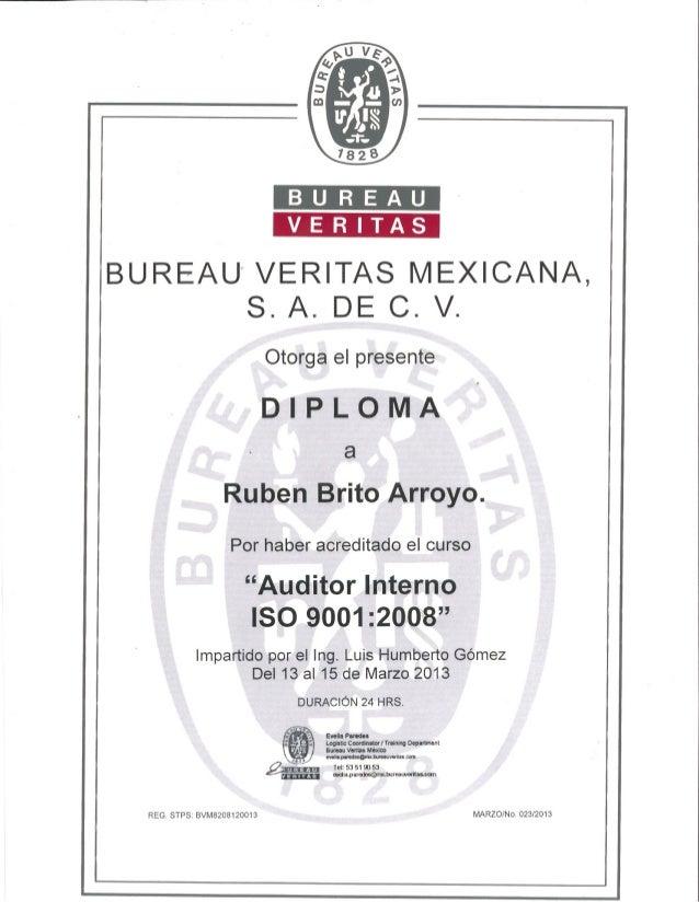 Internal Auditor ISO 9001:2008