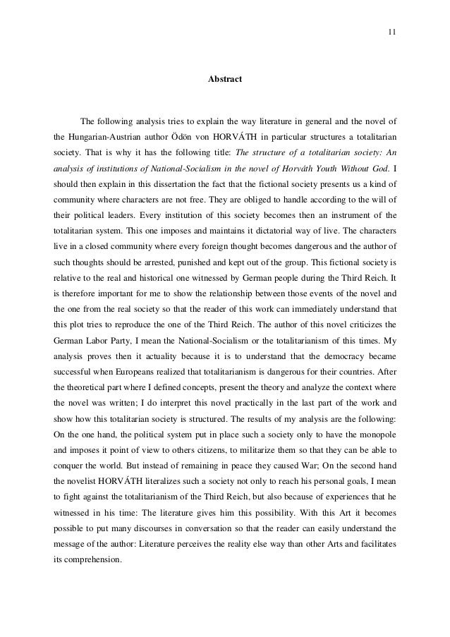 11 Abstract The following analysis tries to explain the way literature in general and the novel of the Hungarian-Austrian ...
