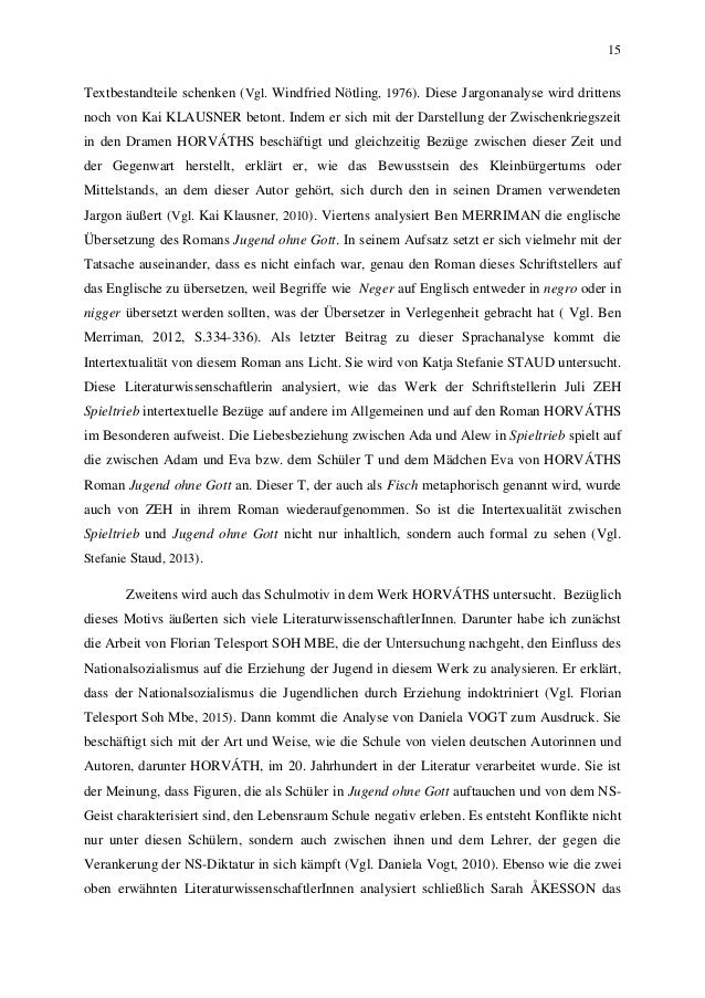 15 Textbestandteile schenken (Vgl. Windfried Nötling, 1976). Diese Jargonanalyse wird drittens noch von Kai KLAUSNER beton...
