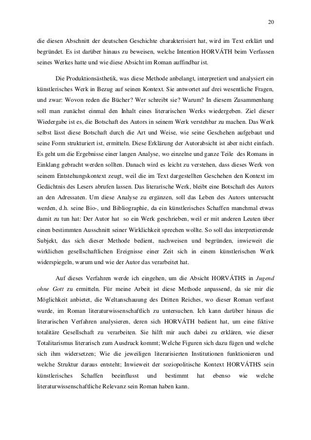 20 die diesen Abschnitt der deutschen Geschichte charakterisiert hat, wird im Text erklärt und begründet. Es ist darüber h...