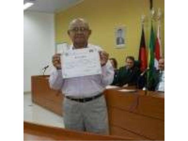 Diplomas dos eleitos