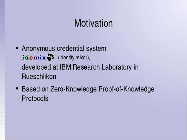 Compiler for Zero-Knowledge Proof-of-Knowledge Protocols Slide 3