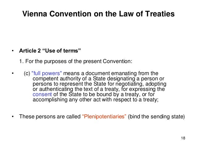 vienna convention on the law of treaties 1969 pdf