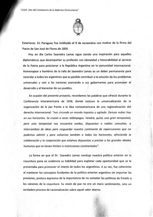 Diplomatico argentino Slide 3