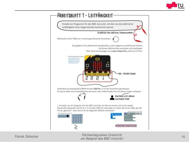 Fächerintegrativer Unterricht am Beispiel des BBC micro:bit