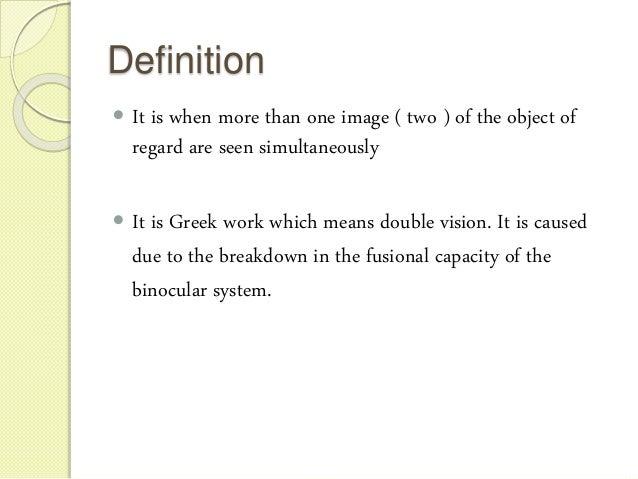 Diplopia charting Slide 2