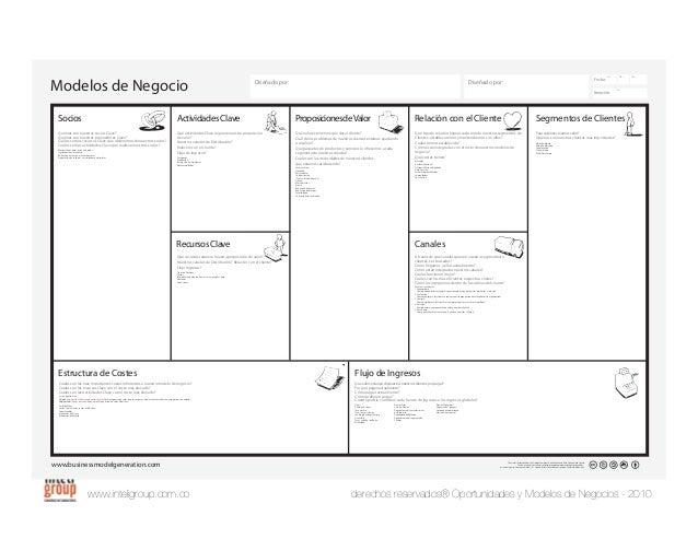 www.inteligroup.com.co derechos reservados® Oportunidades y Modelos de Negocios - 2010