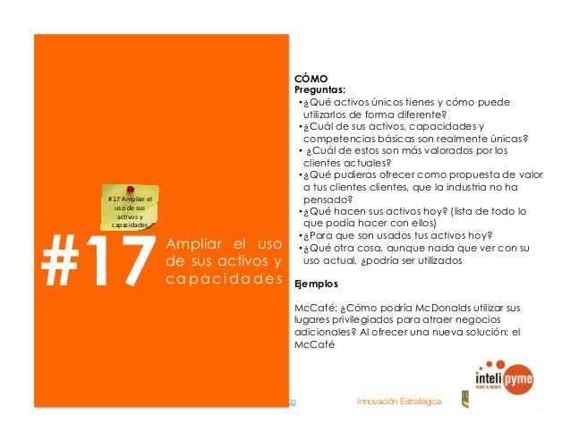2013® Juanes Álvarez Hernández. juan.alvarez@inteligroup.com.co    Innovación Estratégica #19 Re-inventar la interfaz con ...
