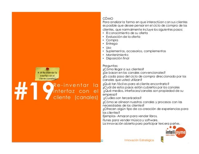 2013® Juanes Álvarez Hernández. juan.alvarez@inteligroup.com.co    Innovación Estratégica #21 Identificar nuevas f u e n t...