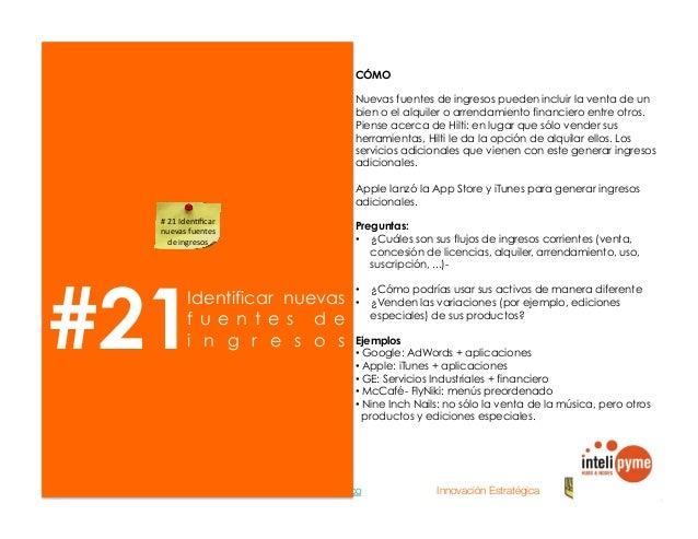 2013® Juanes Álvarez Hernández. juan.alvarez@inteligroup.com.co    Innovación Estratégica #23Reinventar la base de costes ...